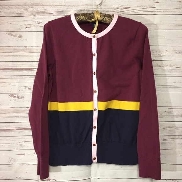 00b3a36a069 Lands' End Sweaters | Lands End Maroon Cardigan Womens Small Button ...